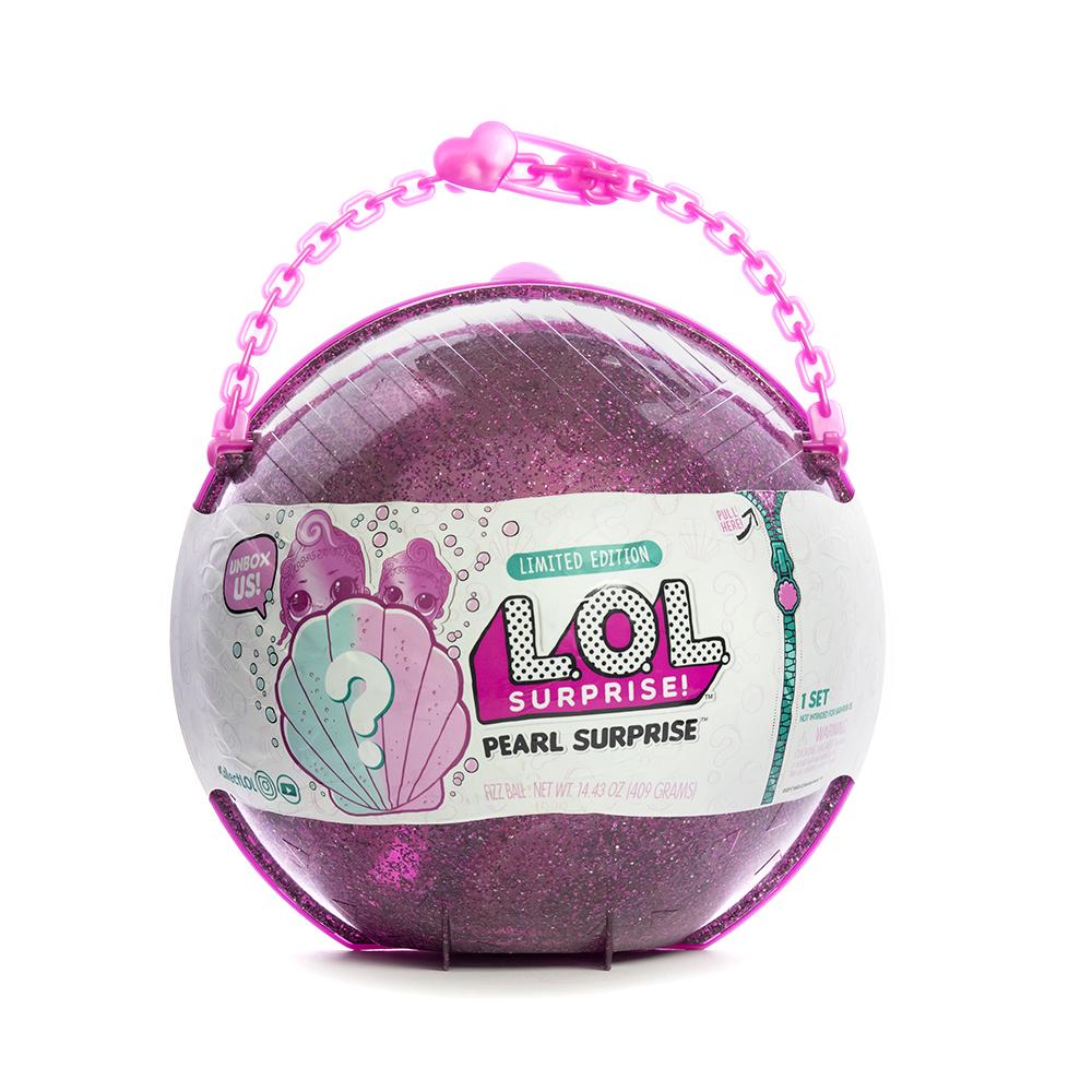 Кукла LOL Surprise Pearl (Лол-сюрприз Жемчужина) (розовый шар)